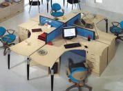 办公桌拆装