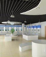 上海磊建办公室装修设计玻璃隔断