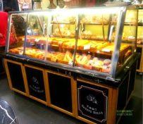 杭州面包展柜厂供应面包中岛展