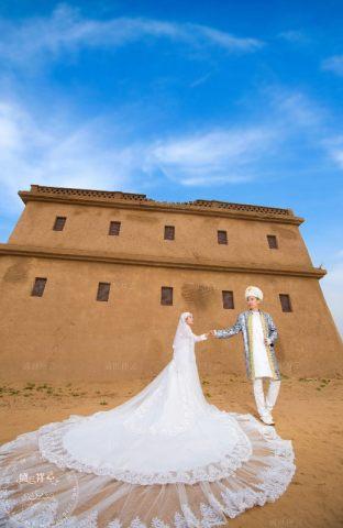 穆斯林婚纱