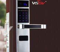 防盗门指纹密码锁V1