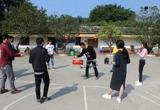 深圳专业组织公司员工拓展训练活动团队集体活动