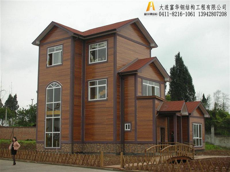轻钢房屋,轻钢别墅搭建,景区木屋搭建