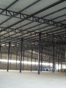 厂房钢结构搭建案例