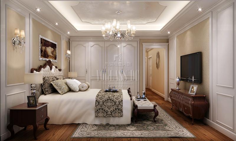杭州别墅装修-现代欧式风格-效果图