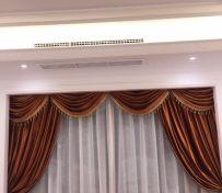 上海家居布艺窗帘定做