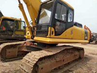 挖掘机怠速低调整方法: