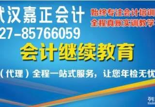武昌区会计从业年检换证 汉阳会计人员继续教育