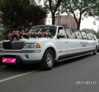 西安维也纳加长婚车