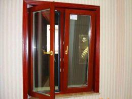 天津铝包木金刚网一体窗 铝包木门窗厂家