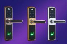 玛卡指纹锁刷卡指纹密码钥匙四合一