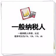 上海申请一般纳税人