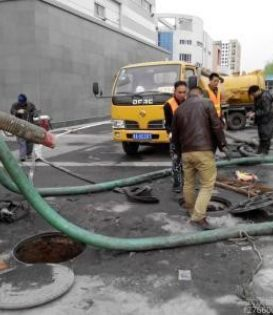 江宁科学园化粪池清理及污水管道疏通和污水池清淤