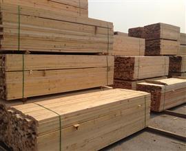 松木木方 工地木方家厂批发价格  价格优惠
