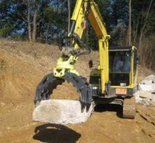 机械手挖掘机
