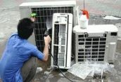 """约克2P变频空调柜机""""F6""""故障维"""