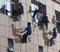 天津日常保洁 擦玻璃 窗帘清