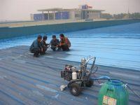 彩色钢屋面防水施工步骤及注意事项