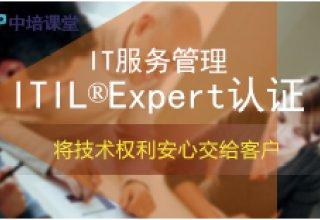IT服务管理(ITIL EXPERT国际认证)