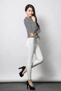 杭州女装摄影女裤模特内景摄影