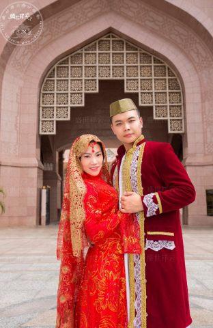 伊斯兰婚纱摄影