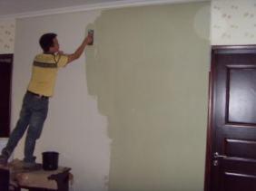 深圳蛇口家居装修室内墙面刷漆