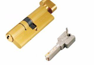 单开锁芯标准锁