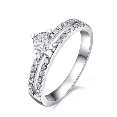 爱的承诺 - 白18K金 钻石女戒