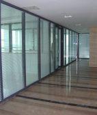 百叶玻璃高隔间 办公室隔断