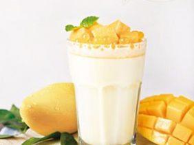 芒果雪泡蛋奶
