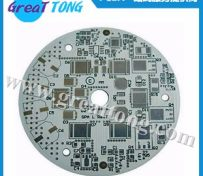 LED铝基灯板PCB制板_电