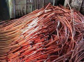 河北高价回收金属废品铜铁铝回收设备物资电缆线