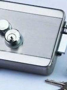 电控锁安装