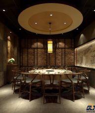 渭南火锅店餐厅装修设计图