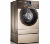 西安小天鹅滚筒洗衣机自动停洗